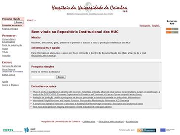 RIHUC - Repositório Institucional dos Hospitais da Universidade de Coimbra