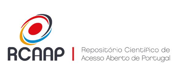 Logotipo do RCAAP com link externo para exibir a página da Revista no indexador